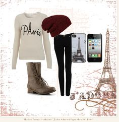 """Roaming around Paris"" by everythinggirly2000 on Polyvore"