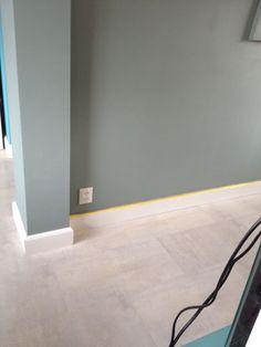 Annie Sloan Wall Paint Duck Egg Blue de muurverf die u makkelijk zonder spetters kunt aanbrengen en afneembaar is zodat u het in iedere ruimte in huis kunt gebruiken