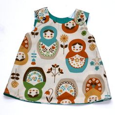 Reversible dress(Dolly)3-6 months £16.00
