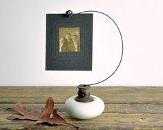 Old Door Craft Ideas | Vintage Door Knob Wire Picture Holder | Craft Ideas
