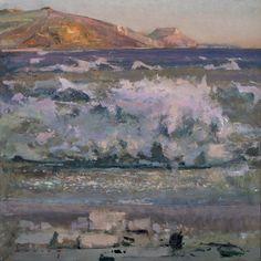 Fred Cuming RA, The Wave, Golden Cap, Dorset.