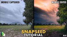 In this Snapseed tutorial, I use mainly White Balance and Selective filters with the help of masking to give the image selective brightness with a warmer loo. Photography Tutorials, Photography Tips, Landscape Photography, Snapseed, Iphone Photography, The Help, Landscapes, Android, Youtube