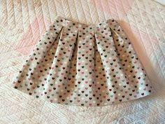 Falda de tablas. Pleated skirt - YouTube