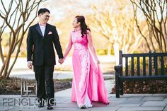 Britney & Viet Bridal Session | Oglethorpe University | Atlanta Vietnamese Wedding Photographer