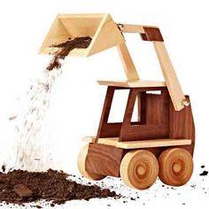 Construction-Grade Skid Loader Woodworking Plan from WOOD Magazine Woodworking Toys, Woodworking Projects, Woodworking Equipment, Woodworking Basics, Woodworking Patterns, Woodworking Classes, Popular Woodworking, Diy Pallet Projects, Projects For Kids