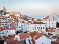 Lisbon by pierrepic #ErnstStrasser #Portugal Portugal Travel, Lisbon Portugal, Hotels For Kids, Holiday Destinations, Paris Skyline, Traveling By Yourself, Scene, Adventure, Mansions