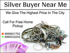 We offer best prices to all sellers who want to sell silver jewellery for cash .We buy sterling silver jewelry, silver flatware, silver coins & silver bullion.