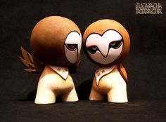 Tytos-mini munny customs by CUCARACHA BORRACHA, via Flickr