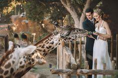 An Outdoor Animal Inspired Wedding at Santa Barbara Zoological Gardens in Santa Barbara, California