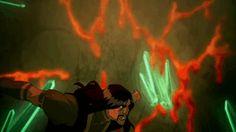 Legend of Korra Season 3 Finale. Suicide is not the answer.