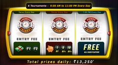 The Jackpot Tournaments just got bigger at #RummyCircle! Now play six Jackpot Tournaments every day and win Rs.13,250 in cash prizes!