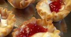 South Your Mouth: Brie Tartlets {Blackberry, Salted Pecan and other Combos}