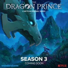 Fear not, The Dragon Prince fans! The fantasy series will be back on Netflix for The Dragon Prince season Dragon Prince Season 3, Prince Dragon, Dragon Princess, Pokemon, An Elf, Netflix Originals, Fantasy Series, Avatar The Last Airbender, Dreamworks