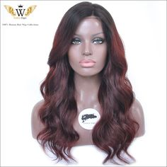 Find More Human Wigs Information about Brazilian Remy Weave Hair Ombre Full Lace Wigs/Glueless Lace Front Wave Hair Wigs/Red Curly Human Hair Ombre U Part Wig,High Quality wig yellow,China wig technology Suppliers, Cheap wig price from Goddess Wiggie No.1 Store on Aliexpress.com