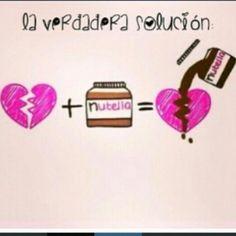 I love nutella ese es mi amigo fiel