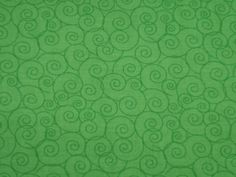"Linda's Scrolls - Kelly Green - Cotton Quilting Fabric, 44"" Wide, By the Half Yard by BaysideFabrics on Etsy"