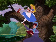 Alice in Wonderland - Animation Screencaps Disney Films, Disney Cartoons, Disney Characters, Fictional Characters, Alice In Wonderland 1951, Disney Aesthetic, Concept Art, Cinderella, Aurora Sleeping Beauty