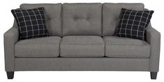 Brindon Contemporary Queen Sofa Sleeper with Track Arms & Tufted Back by Benchcraft   Part of the Brindon Collection Sku: 5390139 Dimensions: Width: 80  x  Depth: 38  x  Height: 38 Store Availability: On Display Compare At Price: $1,499.99 Sale Price: $809.99