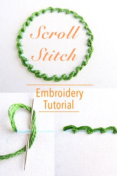 hand embroidery stitches tutorial step by step Embroidery Stitches Tutorial, Hand Embroidery Patterns, Embroidery Techniques, Machine Embroidery Designs, Knitting Stitches, Quilt Patterns, Design Patterns, Silk Ribbon Embroidery, Embroidery Thread