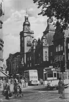 Am Rathaus Pankow 50er Jahre