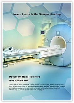 Medical Imaging MS Word Template is one of the best MS Word Templates by EditableTemplates.com. #EditableTemplates #Clinical #Diagnostic #Medical #Cancer #Magnet #Equipment #Clinic #Exam #Modern #Machine
