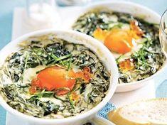 Oeufs cocotte à l'oseille fondu - Recette de cuisine Marmiton : une recette
