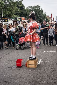 Street Performance World Championship - Merrion square Park (Dublin) [The Streets Of Ireland]