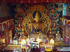 Buddhist shrine.  #shrine