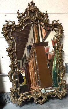 Rustic Iron Spanish Mirror