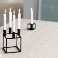 Cube candle holders By Lassen, Candels, Best Candles, Cube, Candle Holders, Objects, Cool Stuff, Interiors, Berlin