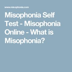 88 Best Misophonia images in 2018 | Misophonia, Noise