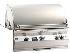 "Fire Magic Aurora A530i Stainless Steel  24"" Built-In Gas Grill with Rotisserie, Back Burner 