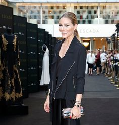 The Olivia Palermo Lookbook : Olivia Palermo at the ESCADA Flagship Store Opening in Germany.