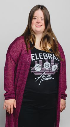 "Caley Versfelt, Special Olympics Global Messenger loves our ""Celebrate Abilities"" tank that supports Special Olympics athletes! Get yours and support these wonderful competitors :) #Sevenly"