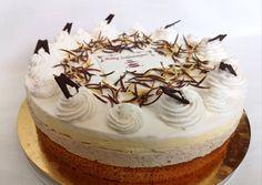 Fun Desserts, Tiramisu, Tart, Food And Drink, Birthday Cake, Sweets, Ethnic Recipes, Cakes, Mascarpone