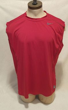 Clothing, Shoes & Accessories Activewear Nike Pro Combat Dri-fit Mens Compression Athletic Shirt Sz Xl Euc Sleeveless Sales Of Quality Assurance