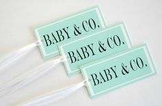 Instead of a TIFFANY party make it a BABY party.