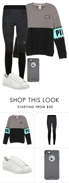 """""""Have to get up tomorrow?"""" by pierclib ❤ liked on Polyvore featuring adidas and OtterBox"""