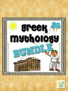 Greek Mythology Activity Book with Stories from TeachingintheSunshine on TeachersNotebook.com (31 pages)  - Common Core aligned Greek Mythology unit including kid friendly stories, activities and BINGO!