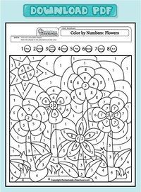 My free preschool math worksheets will help teach counting, numbers, and problem solving in exciting ways! Each is fun to color and full of activity ideas. Free Preschool, Preschool Worksheets, Preschool Activities, Preschool Pictures, Number Worksheets, Color By Numbers, Math Numbers, Coloring Book Pages, Coloring Sheets