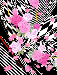 Stripe and Rose on Behance