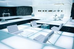 "Barcelona chairs in ""Tron"""