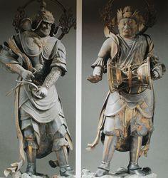金毘羅王(こんぴらおう) 緊那羅王(きんならおう) Japanese Mythology, World Religions, Buddhist Art, Japan Art, Deities, Buddhism, Art Photography, Sculptures, Statue