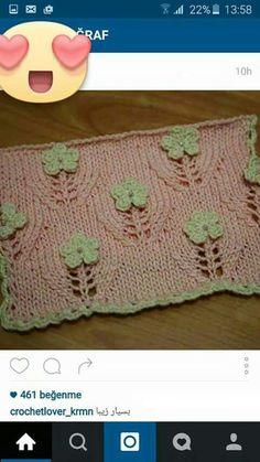 knit stitch - Diy And Craft Leaf Knitting Pattern, Lace Knitting, Baby Knitting Patterns, Knitting Stitches, Stitch Patterns, Knit Crochet, Crochet Patterns, Baby Patterns, Diy Crafts Knitting