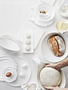 15 Ideas for breakfast photography egg Breakfast Photography, Food Photography Styling, White Photography, Food Styling, Good Food, Yummy Food, White Food, Food Design, Food Art
