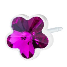 Blomdahl MP Flower 6mm Fuchsia B