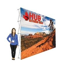 15ft x10ft Straight RPL Fabric Pop Up Display NO Endcaps is the light version of our Ready Pop Fabric Pop Up Display. RPL displays reaches a height of 10 feet! 10ft x 10ft RPL Fabric Pop Up is the perfect display on the go. It's ready in minutes.#Tradeshow#popup#display#backwall#backdrop#fabric#Custom#exhibit#ideas#wall#expo#exposition#readypop#trade#show