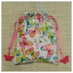 Bolsa merienda mariposas Drawstring Backpack, Backpacks, Sewing, Bags, Fashion, Afternoon Snacks, Children Garden, Sachets, School Supplies