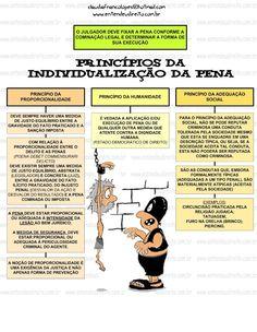 Princípios da Individualização da Pena #Direito