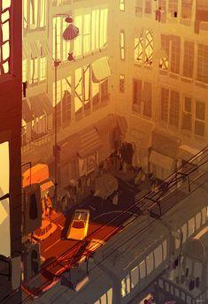 The Art Of Animation — Pascal Campion Level Design, Bg Design, Environment Concept Art, Environment Design, Animation Background, Art Background, Illustrations, Illustration Art, Illustration Children